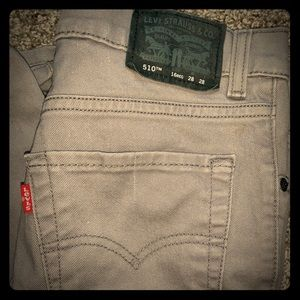 Levi's Strauss and co Gray jeans size 2-4